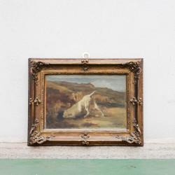 Dipinto Cane alla Scoperta