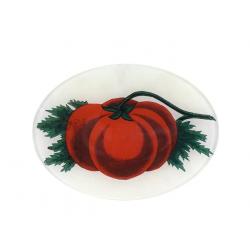 John Derian Tomato Oval Plate