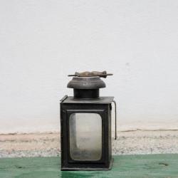 Vintage Mini Iron Lantern
