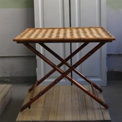 Tavolino pieghevole top in...
