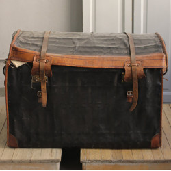 Moynat Leather Trunk