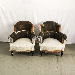 Pair of Armchairs with...