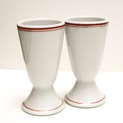 Coppia Bicchieri Ceramica...
